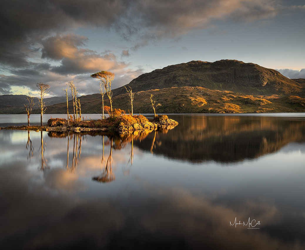 Loch Assynt reflections, Scotland