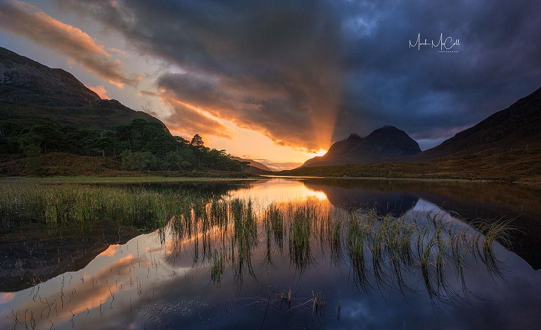 Loch Clair Gold, Torridon, Scotland