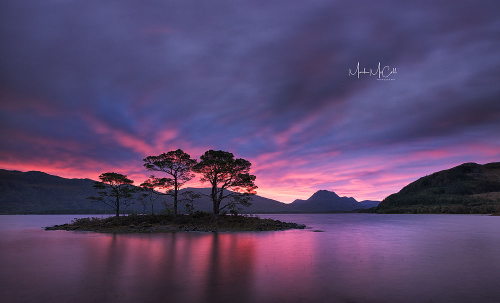 Loch Maree sunrise, Wester Ross, Scotland