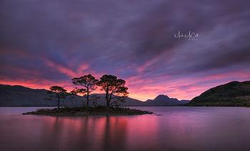 Loch Maree sunrise, Wester Ross, Scotland