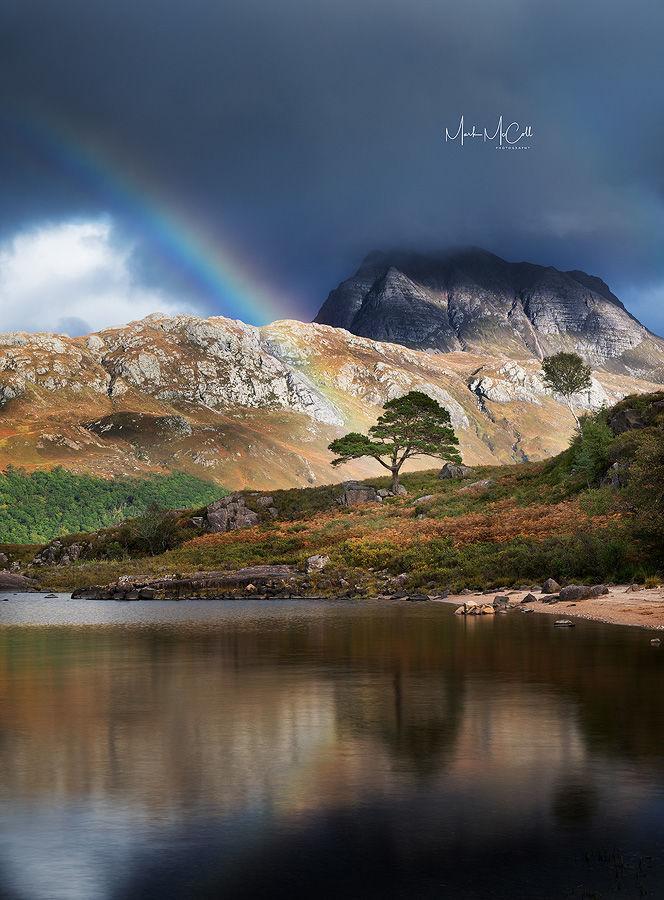 Loch Maree rainbow, Torridon, Wester Ross