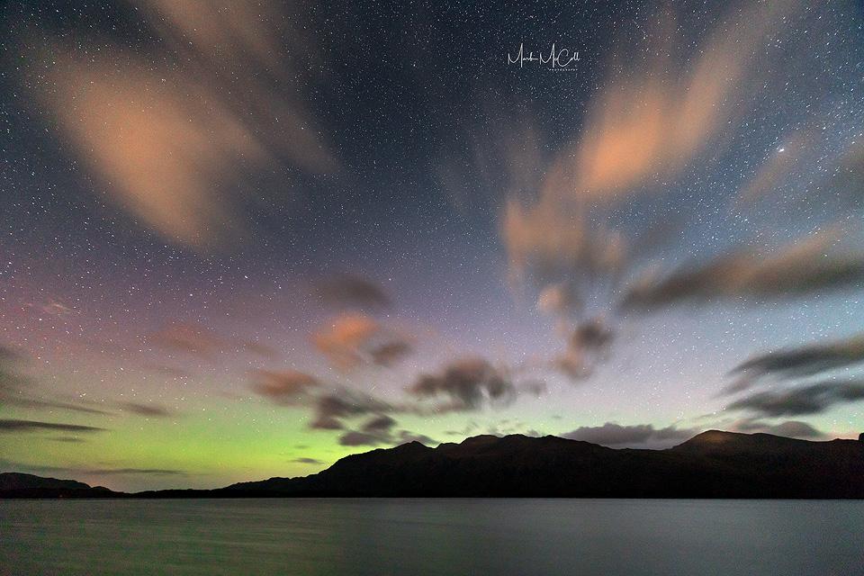 Loch Maree Aurora, Wester Ross, Scotland