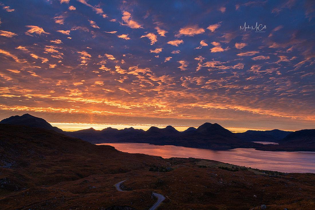 Dawn Colours, Upper Loch Torridon, Wester Ross, Scotland