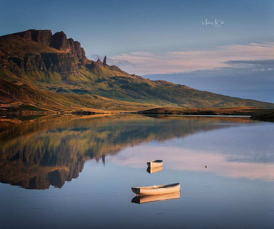 Loch Fada reflections, Skye, Scotland