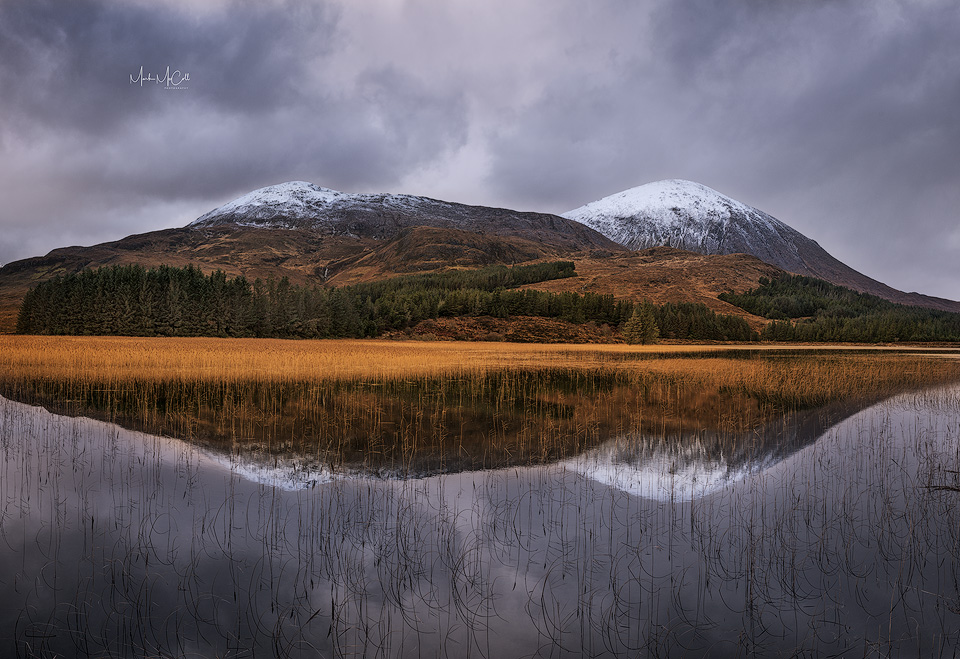 Reflections, Loch Cill Chriosd, Isle of Skye