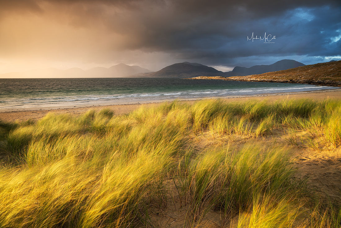 Passing storm, Luskentyre, Outer Hebrides