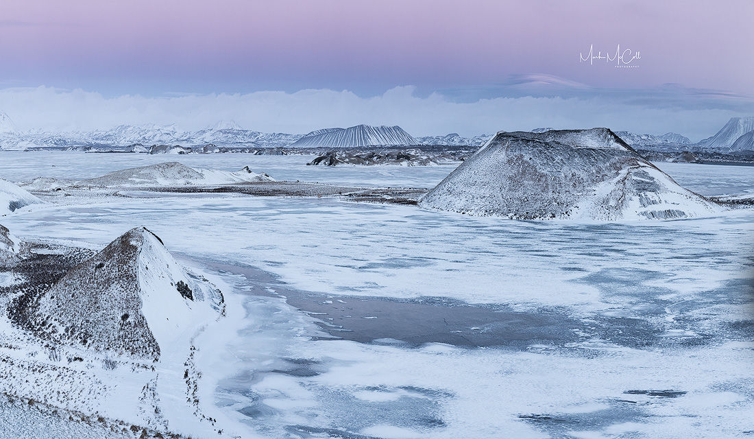 Pseudo-craters, Myvatn, Iceland