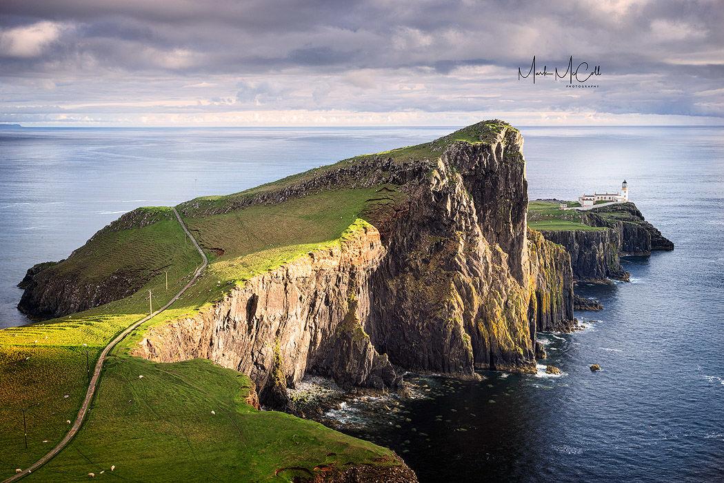 Spring sunset, Neist point, Isle of Skye