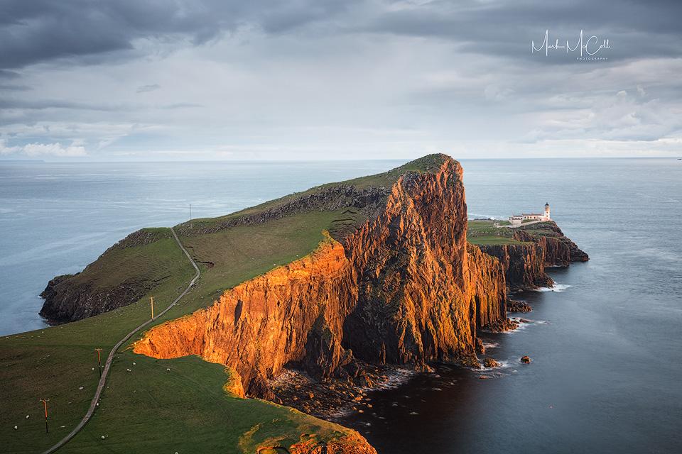 Golden moment, Neist point, Isle of Skye
