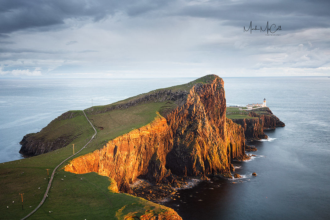 Golden moment, Neist point, Isle of Skye