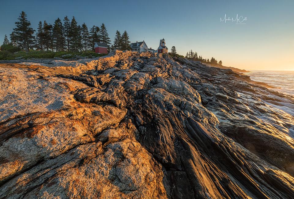 Pemaquid light dawn, Maine