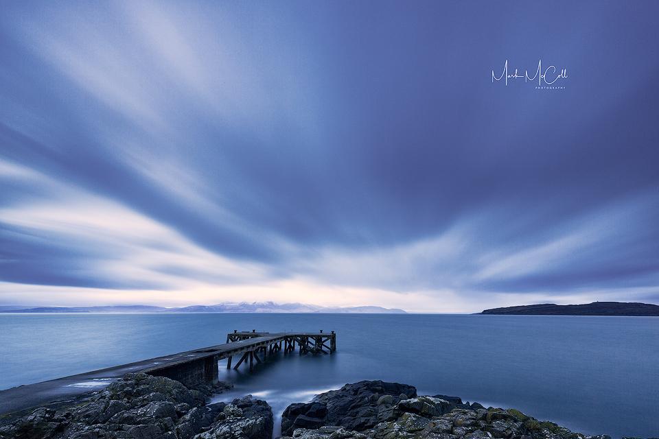 Passing by, Portencross, Ayrshire, Scotland