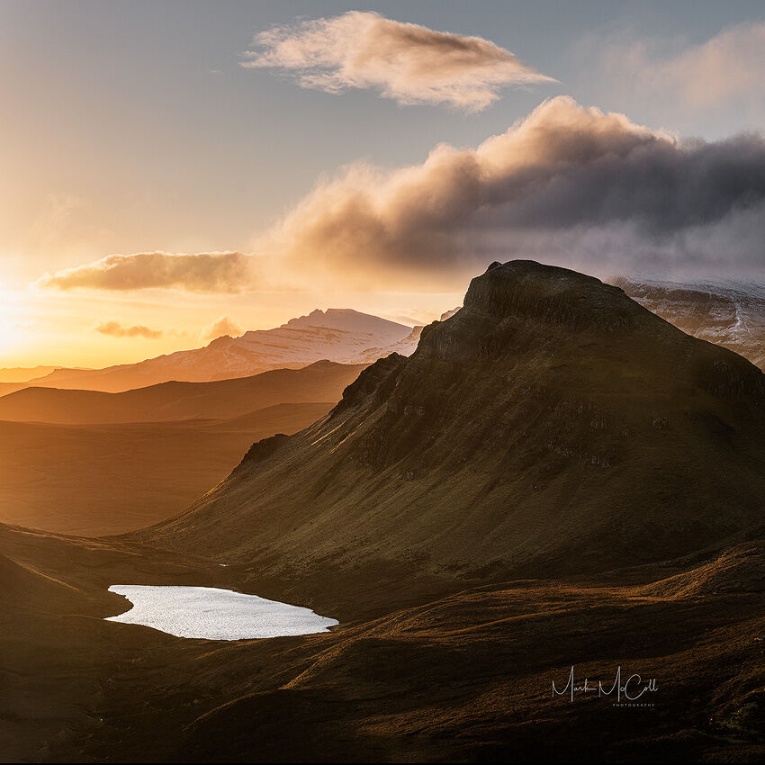 Winter light, Quiraing, Isle of Skye