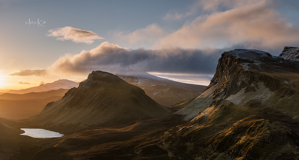 Winter Dawn, Quiraing, Isle of Skye