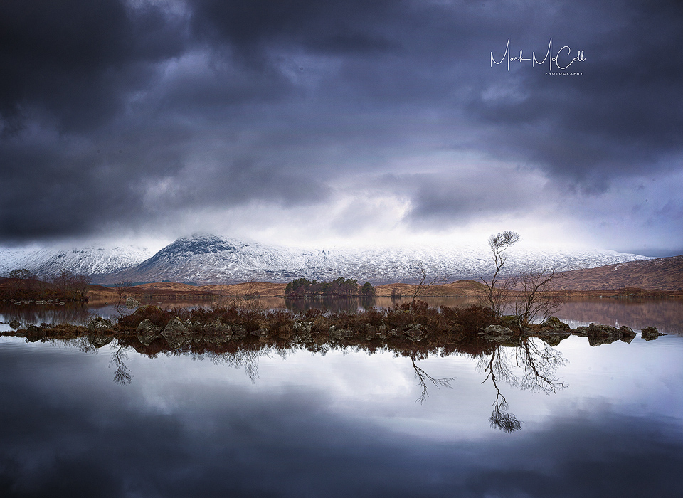Rannoch Moor reflections, Glencoe, Scotland