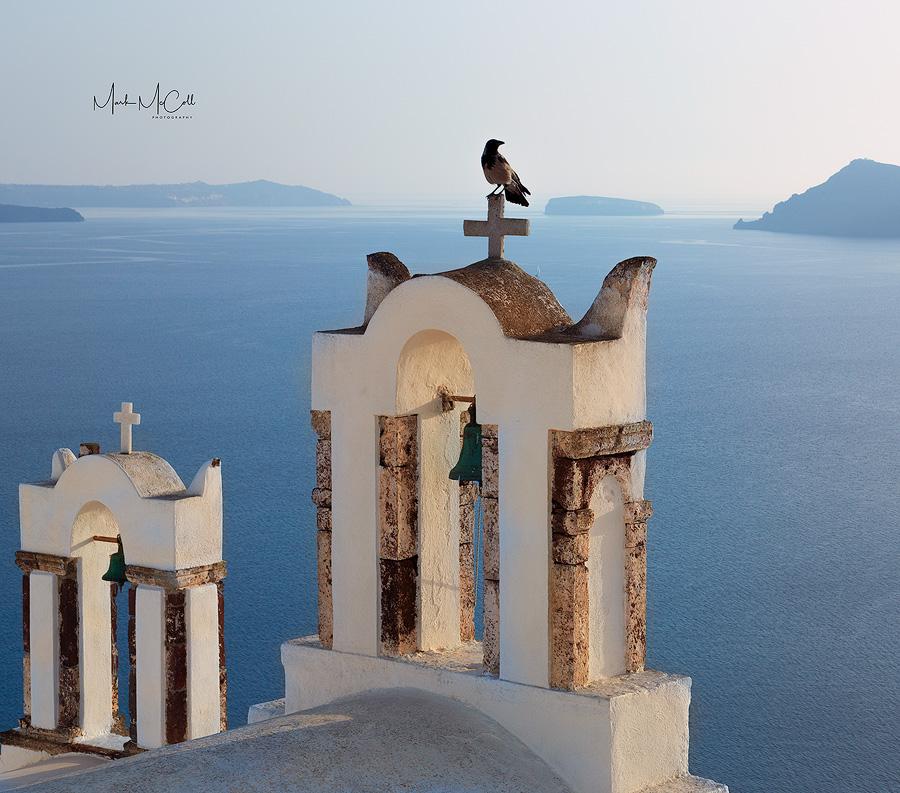 The bell-tower, Oia, Santorini