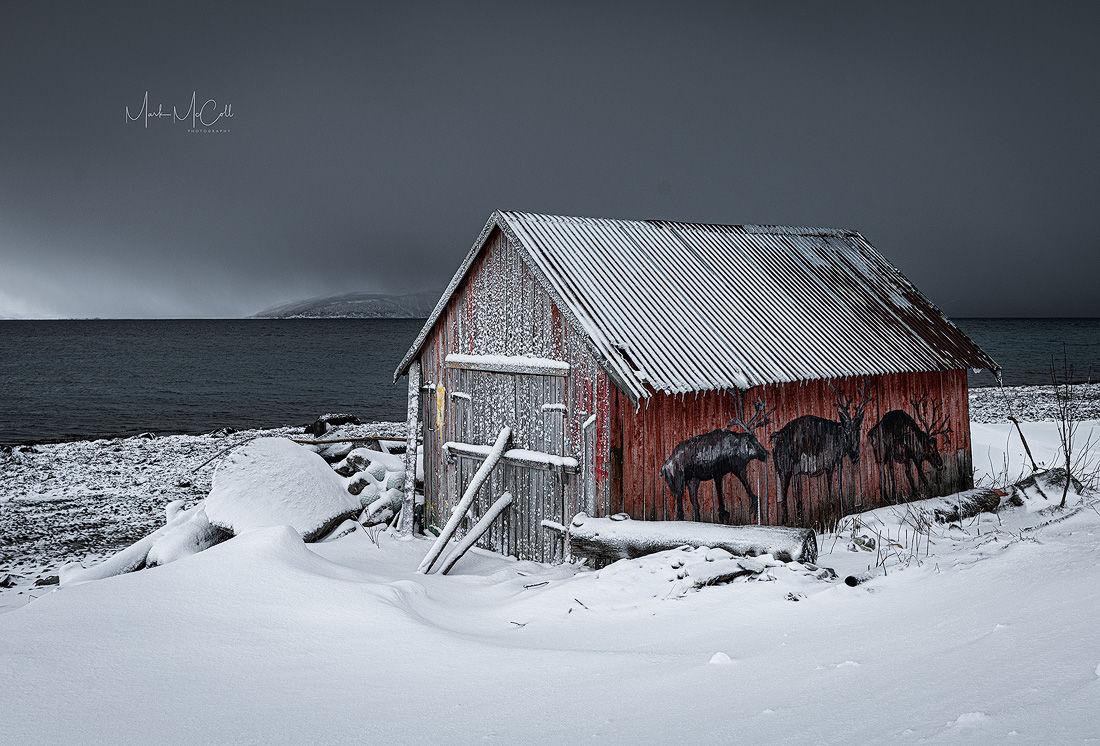 Reindeer Rorbu, Tromso, Arctic Norway