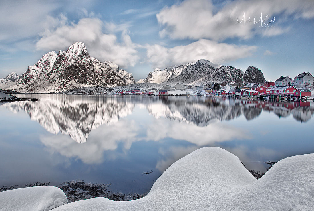 Early morning light, Reine, Lofoten islands