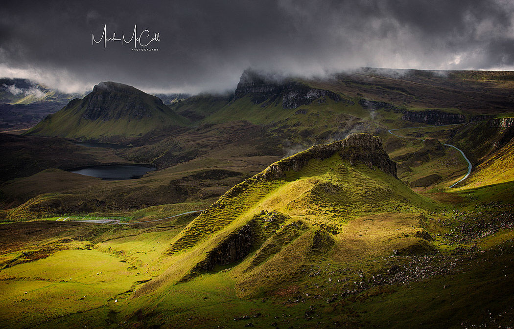 Moody Quiraing, Isle of Skye, Scotland