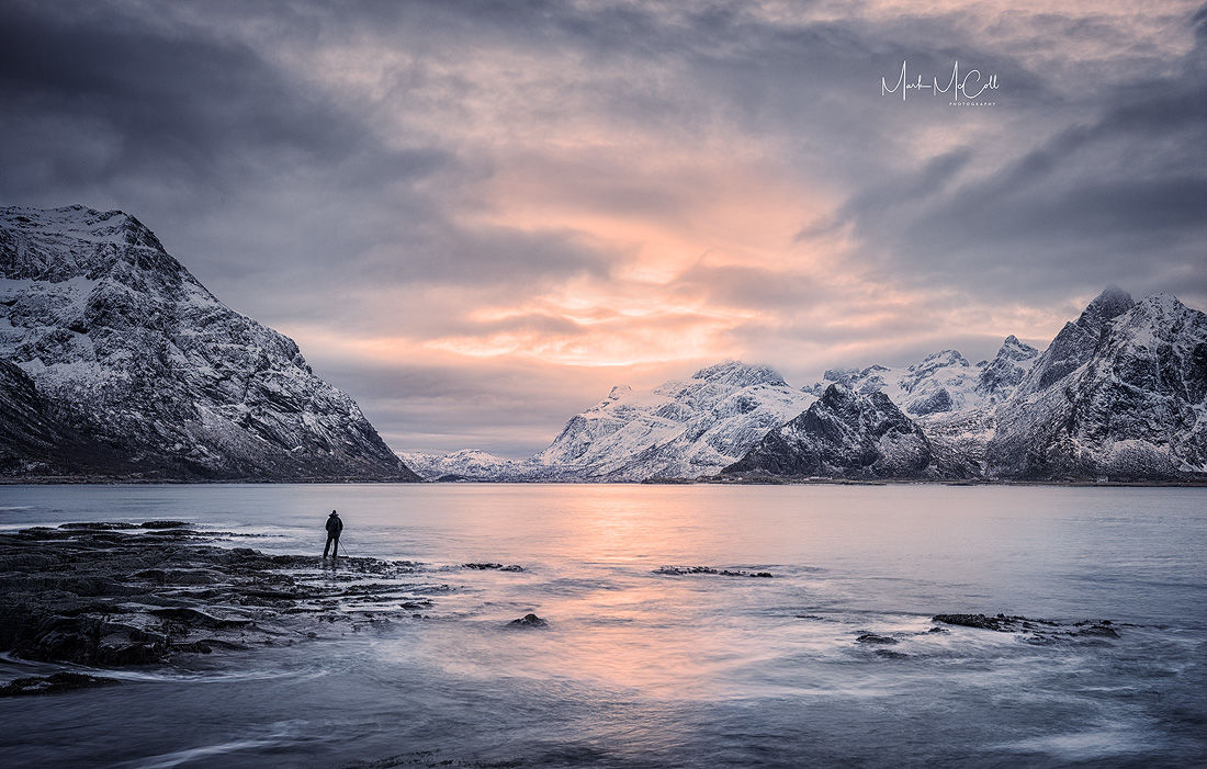 Solitude, Vareid, Lofoten Islands, Arctic Norway