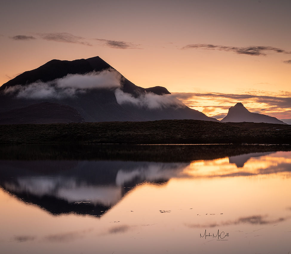 Stac Pollaidh reflections, Assynt, Scotland