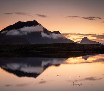 Stac Pollaidh reflections, Assynt, Scotland