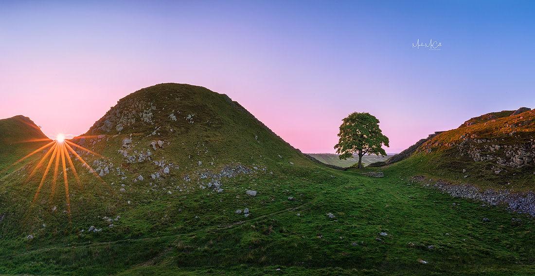 Hadrian wall, Northumberland