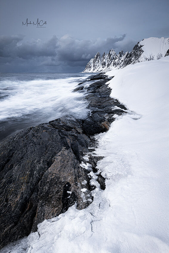 Winter at Tungeneset, Senja