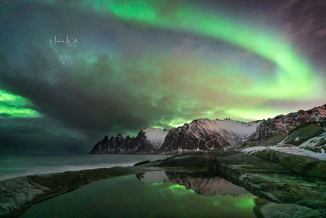 Tungeneset Aurora, Senja, Arctic Norway