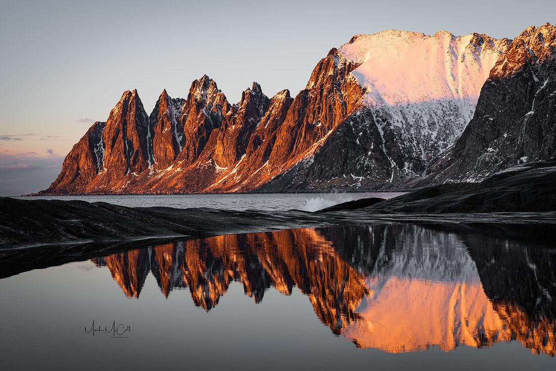 Tungeneset sunset, Senja, Arctic Norway