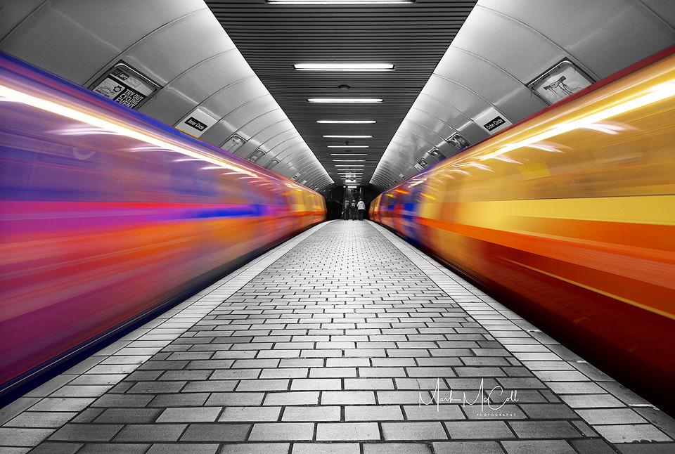Tunnel vision, Glasgow Underground 2007