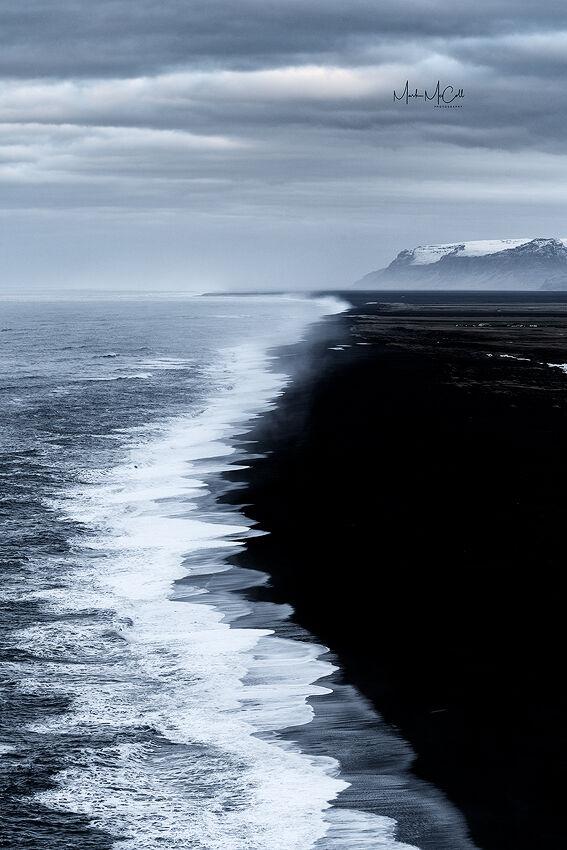 Volcanic coast, Iceland