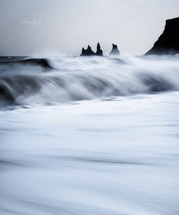 Icelandic surf, Vik, Iceland