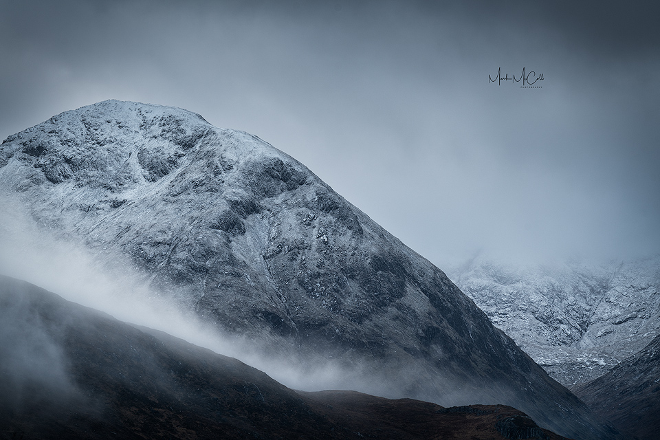 Brooding in the mist, Glencoe, Scotland