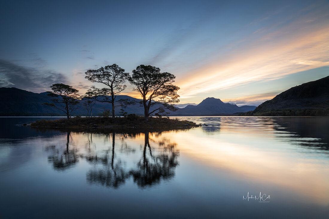Loch Maree dawn, Wester Ross, Scotland