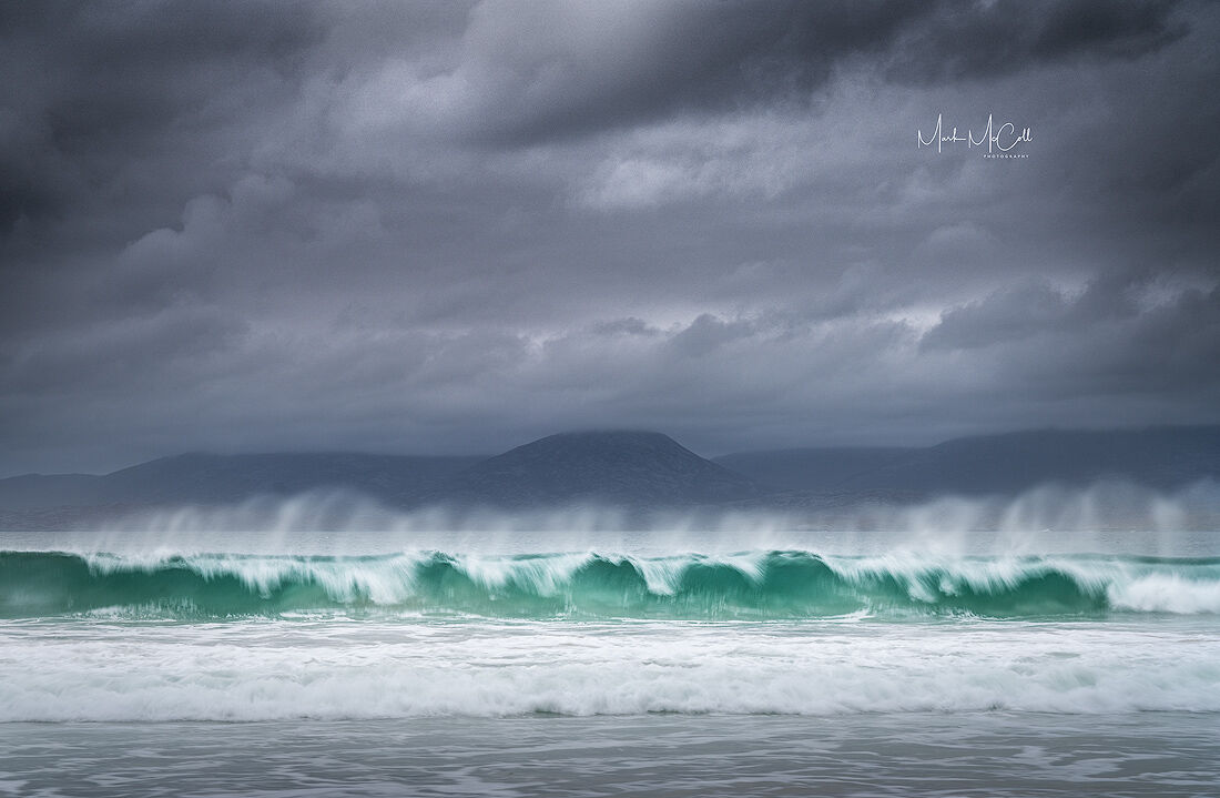 The perfect wave, Outer Hebrides, Scotland