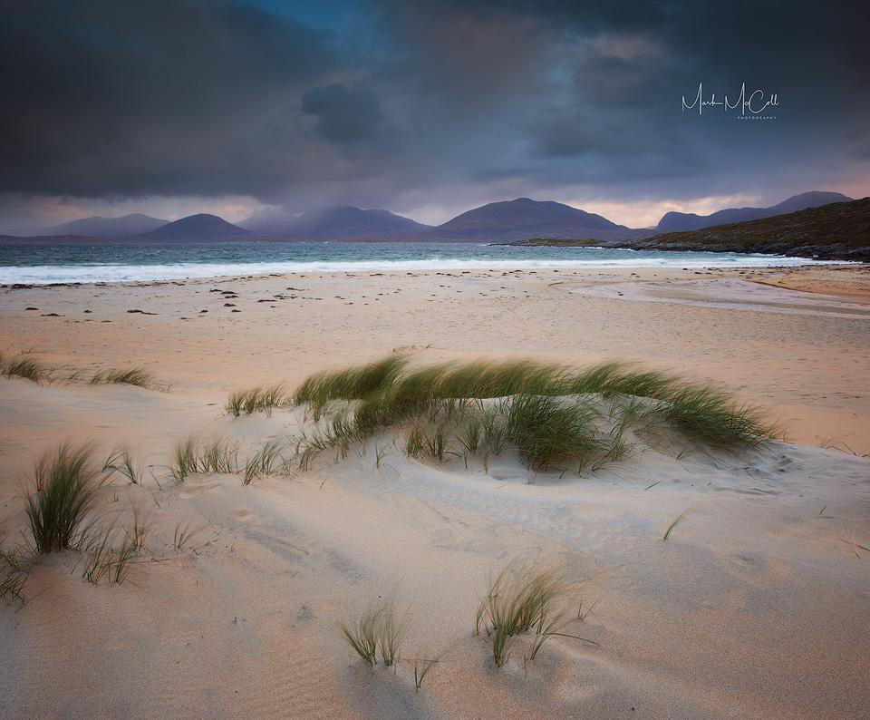 Luskentyre dawn, Isle of Harris, Outer Hebrides, Scotland