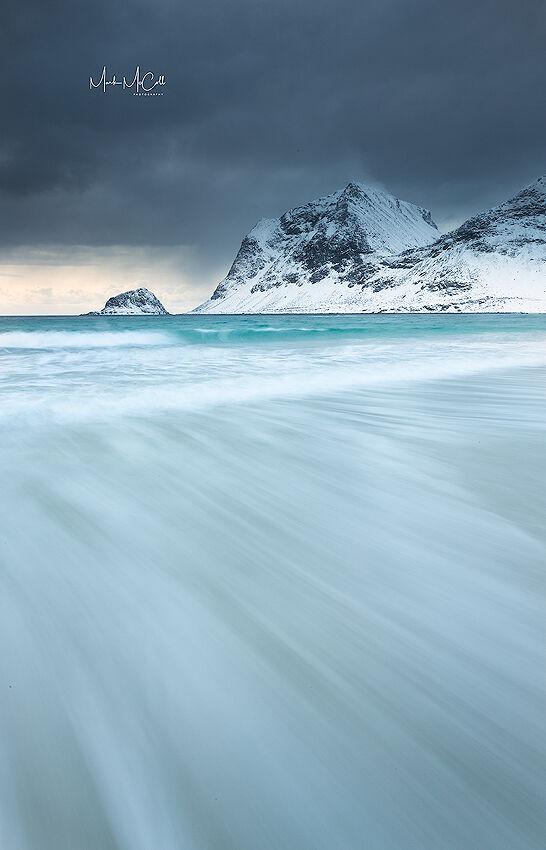 Waves, Lofoten Islands, Norway