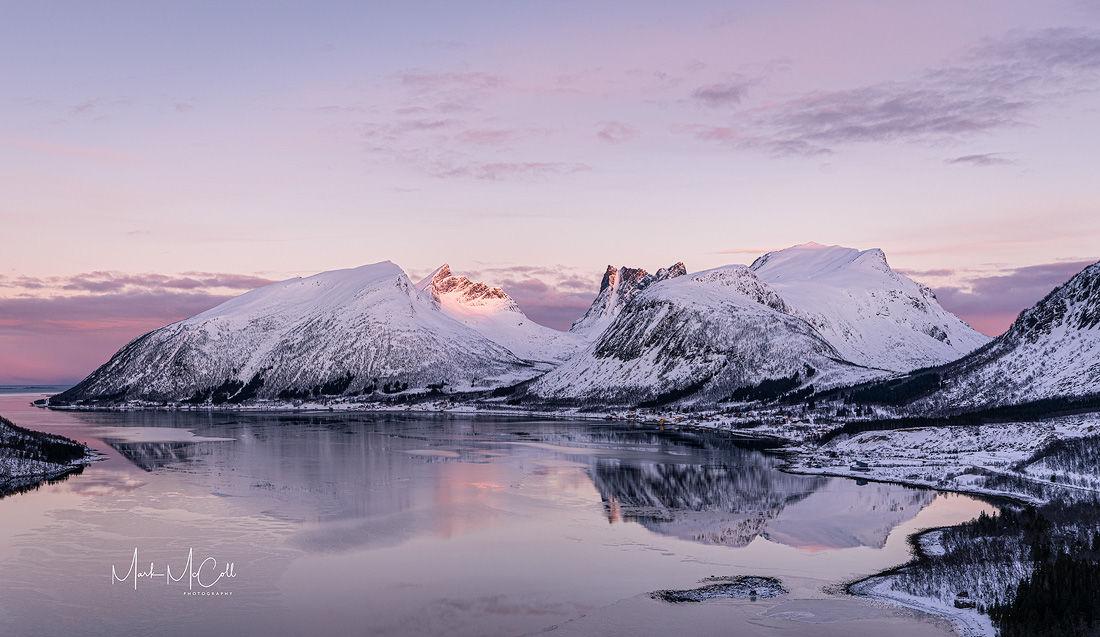 First light. Senja, Arctic Norway