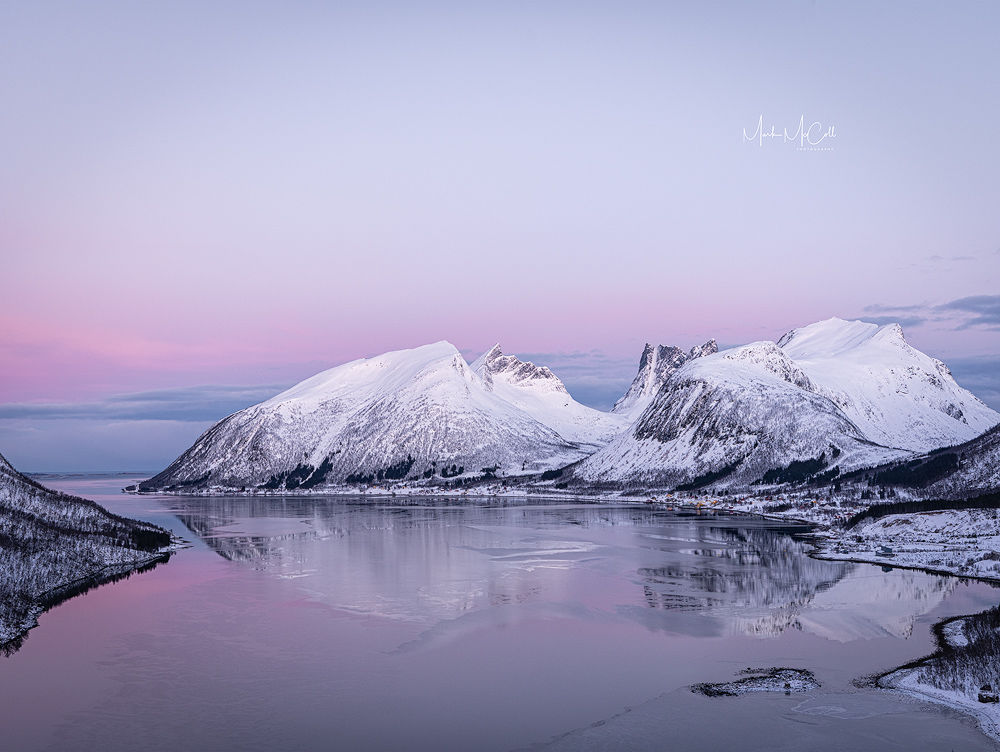 Pre-dawn colours, Bergsbotn, Senja, Arctic Norway