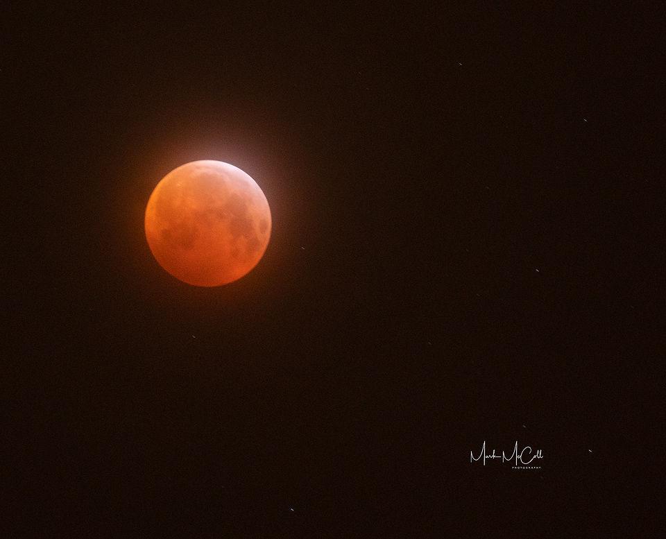 Super wolf blood moon (Lunar eclipse), January 2019