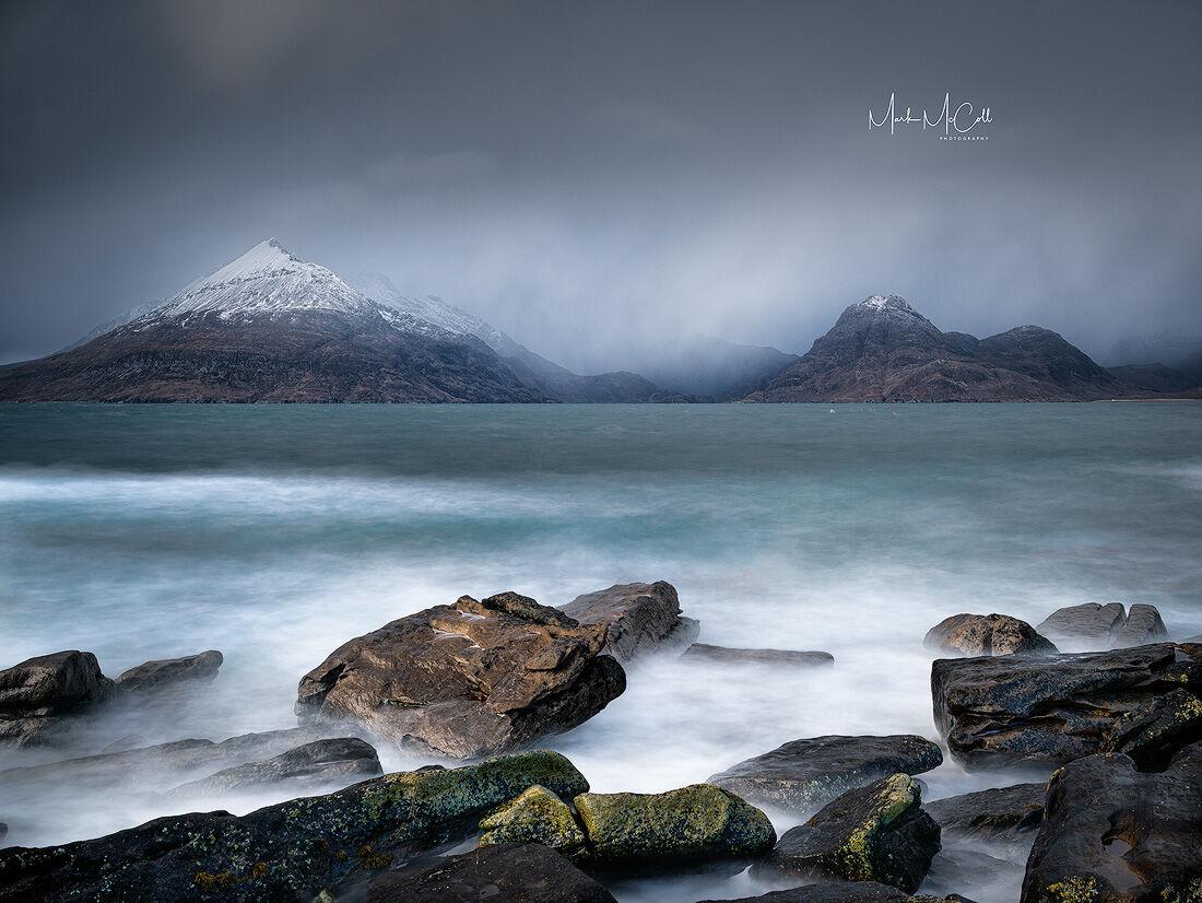 Winter at Elgol, Isle of Skye