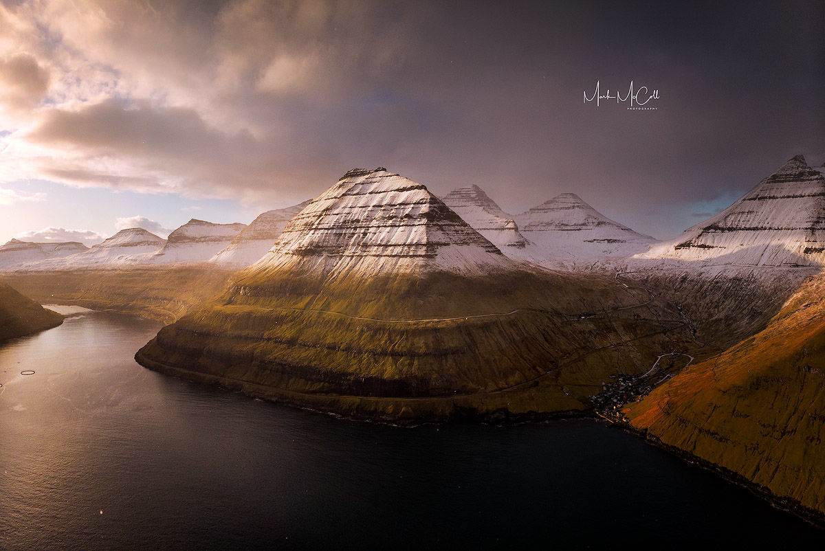 Winter sunrise, Faroe Islands
