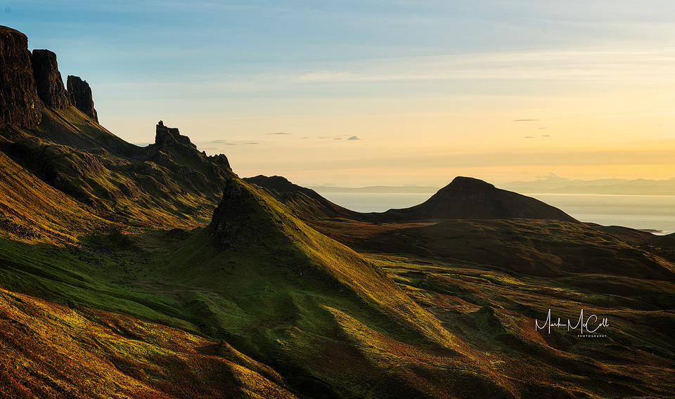 Quiraing dawn, Isle of Skye