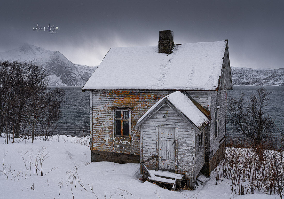 House with a view, Senja, arctic Norway