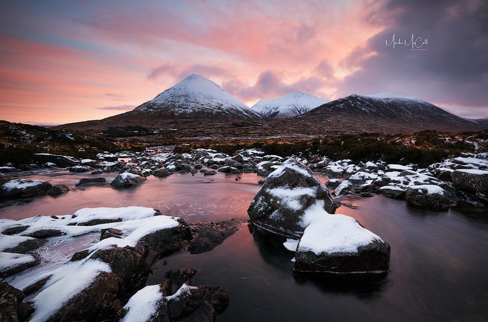Cuillin dawn, Sligachan, Isle of Skye