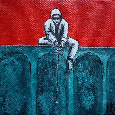 Dangling The Bait 3  SOLD
