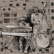 keys and bass2websiteDigital painting Limited edition of 20