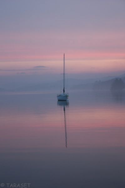Sailing Boat on Windermere