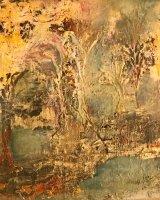 006 When the Autumn Falls 30 x 30 cm Oil on Canvas